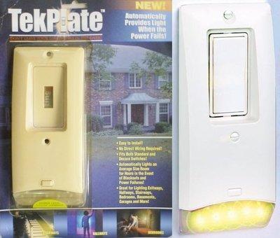 10個,停電感應燈TekPlate緊急照明燈,應急燈手電筒 停電求生,住家 民宿 旅館 地震停電防災 緊急防火災消防設備