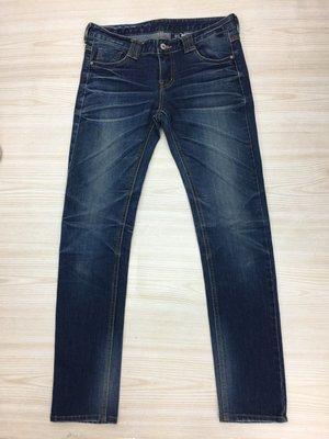 【愛莎&嵐】DUNGKA 女 藍色牛仔褲 / 27 (一點彈性) 1071019