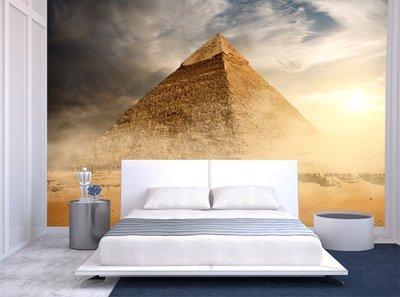 客製化壁貼 店面保障 編號F-580 神秘金字塔 壁紙 牆貼 牆紙 壁畫 星瑞 shing ruei
