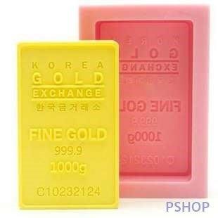 【法法雜貨】黃金999金塊模具 冰塊模 製冰盒 巧克力模 餅乾模 手工皂模 蛋糕模 果凍模 蠟燭模 黏土模S72