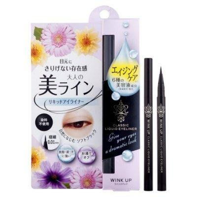♡NANA♡NARIS UP 娜麗絲 媚惑極細眼線液 碳黑 極細0.01