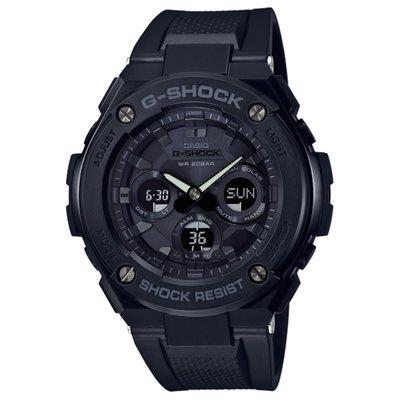 CASIO G-SHOCK GST G-STEEL series GST-S300 GST-S300G-1A1 全黑 膠帶 GSHOCK GSTS300G1A1