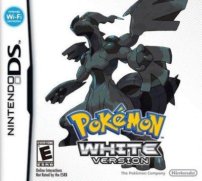 遊戲卡帶 3DS NDSi NDSilll NDSL NDS游戲卡 口袋妖怪黑白版 白 中文版