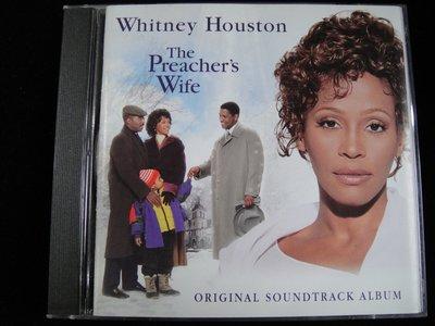 【198樂坊】Whitney Houston.The Preacher's Wife天使保鑣(電影原聲帶.....)DN