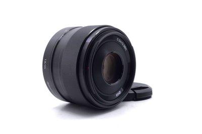 【台中青蘋果】Sony E 35mm f1.8 OSS SEL35F18 二手 定焦鏡 公司貨 #56202