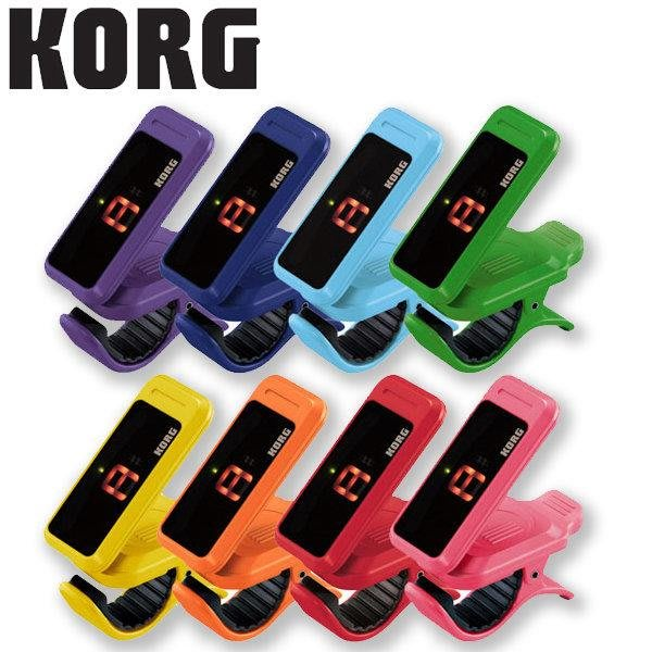 ☆唐尼樂器︵☆ Korg PC-1 彩色版 烏克麗麗 木吉他 電吉他 Bass 小提琴 二胡 夾式調音器