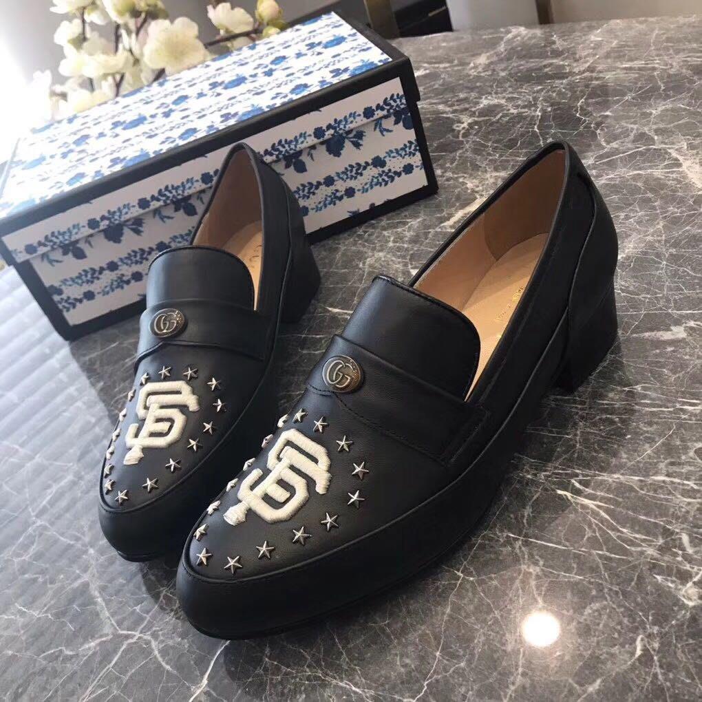 G🔥2019早春新款也玩一點不一樣的樂福鞋🐝⭐️