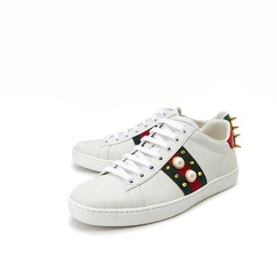 HJ國際精品館19春夏431887 Ace studded leather sneaker休閒鞋