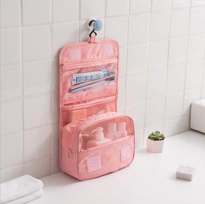 旅行洗漱包女便攜洗漱袋洗漱用品收納袋可懸掛式戶外防水化妝包男 全館免運