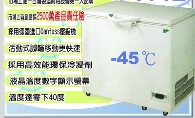 冠億冷凍家具行  台灣製瑞興超低溫-45度2尺5(RS-CF250LT)/冷凍櫃/冰櫃/高級生鮮黑鮪魚