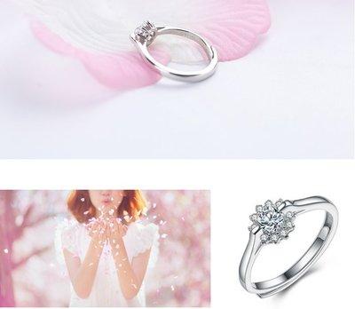 +(結帳後再享折扣)EOS 時尚精品 925純銀30分求婚CZ鑽戒 結婚戒對戒GIA鑽石婚禮 婚攝特價服飾女裝流行飾品