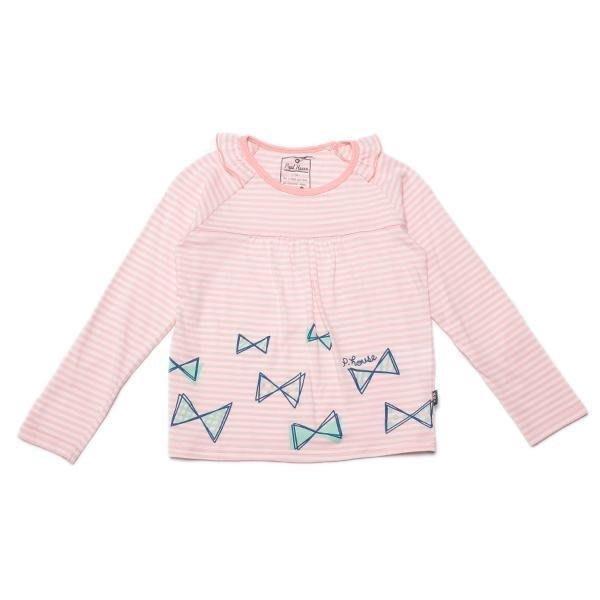 Pupil house 日本品牌童裝 ~~蝴蝶薄長袖上衣,尺寸120
