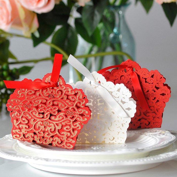 衣萊時尚-熱賣款  喜糖盒子紙盒創意結婚伴手禮喜糖禮盒中國風婚慶用品 P9