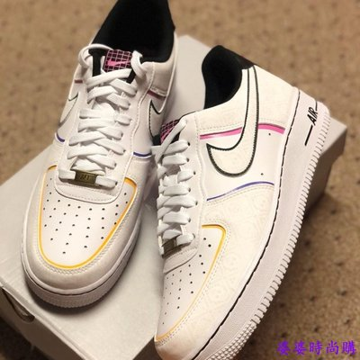 Nike Air Force 1 Low Day of the Dead 亡靈節 反光CT1138-100