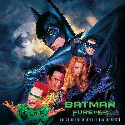 【黑膠唱片LP】蝙蝠俠 3 電影原聲帶 Batman Forever: Music Motion Picture