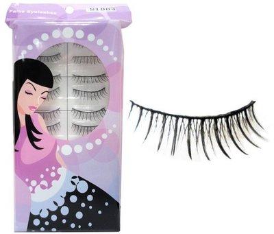 【零秘密】S1004 手工假睫毛 10對入 交叉纖長電眼迷人放大 eyelash 另有其他美妝用品