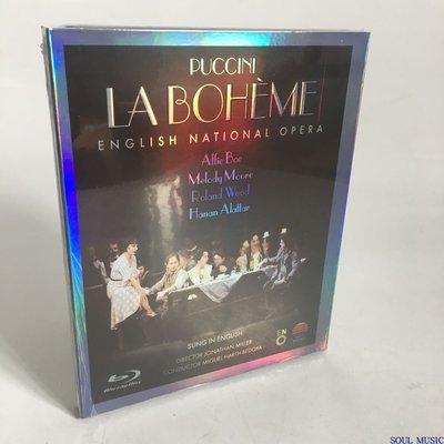 音樂藍光碟BD25普契尼波希米亞人 英國國家歌劇院PUCCINI高清全新盒裝