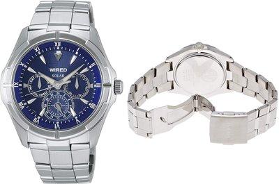 日本正版 SEIKO 精工 WIRED AGAD033 男錶 男用 手錶 日本代購