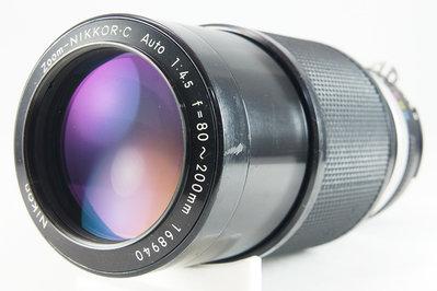 **日光銀鹽** Nikon Non-AI Zoom-Nikkor.C Auto 80-200mm F4.5 #940
