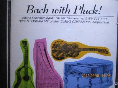 Bach with Pluck:Six Trio Sonatas BWV525-BWV530/Dusan Bogdano