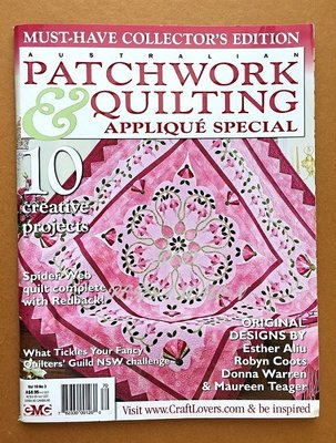 紅柿子【英文彩色版•PATCHWORK & QUILTING 拼布作品集 vol 19 No 3 】特售70元•