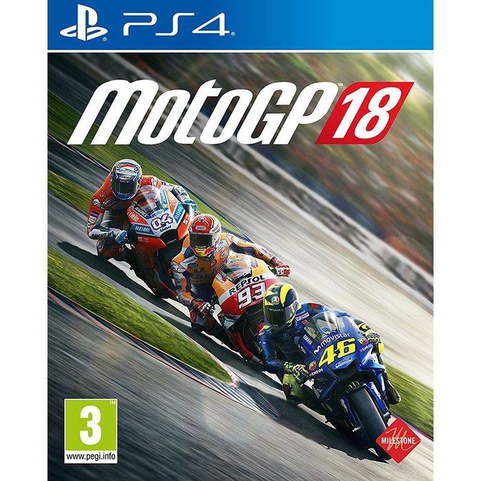 全新未拆 PS4 MotoGP 18 世界摩托車錦標賽 -英文亞版- 重型機車 Moto GP 2018