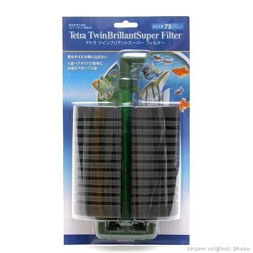 魚樂世界水族專賣店# 德國 Tetra 雙管生化過濾器(L)扇型 水妖精
