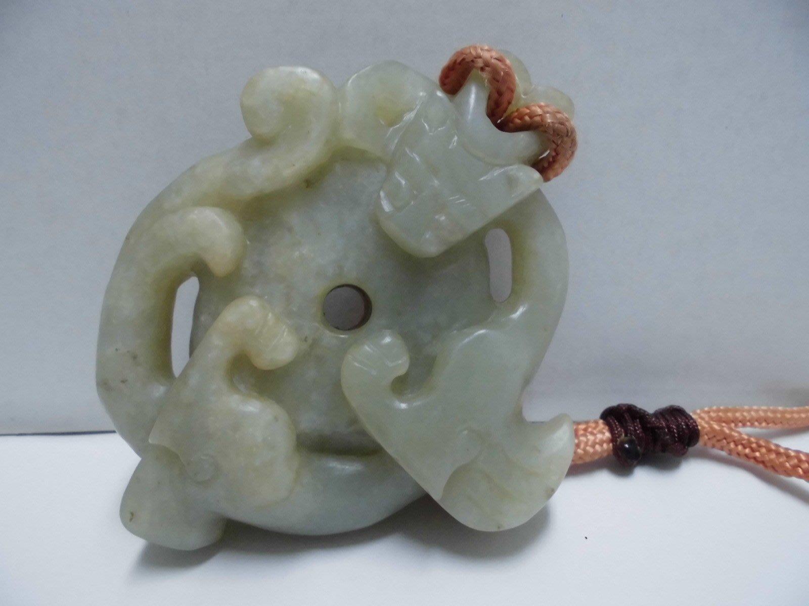 老和闐沁玉--避邪獸