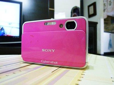 *羅浮工作室=免郵資,功能保固*SONY DSC-T2 數位相機(粉)