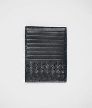 喬瑟芬【BOTTEGA VENETA】現貨~2015春夏 *162156 黑色  編織小羊皮 隨身卡夾