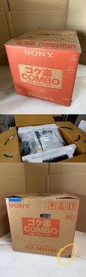 Sony 14吋 CRT Trinitron 特霓虹 映像管電視 KV-14VH10 內建錄影機電視 傳統電視 日本製造
