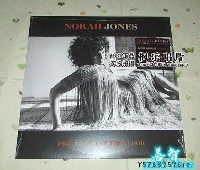 善智 CD 精選諾拉瓊斯 No##rah Jones Pick Me Up Off The Floor LP 黑膠SZ1542