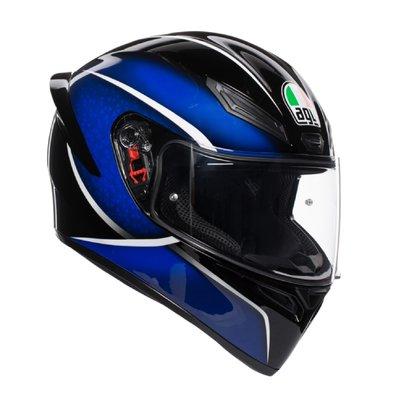 [安信騎士] 義大利 AGV K-1 K1 Qualify 星光藍 全罩 安全帽 亞洲版