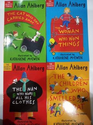 全彩 英文繪本 Walker Books 1本$90. Allan Ahlberg. The Cashier Stories.