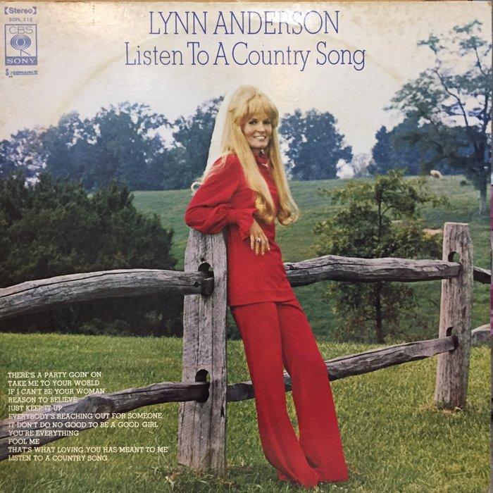 §小宋唱片§日版/Lynn Anderson – Listen To A Country/二手西洋黑膠