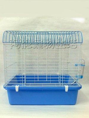 【阿肥寵物生活】購物滿1500元免運費* 輕便烤漆中兔籠 **