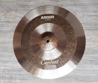 *雅典樂器世界* 極品 Centent ARDOR 16吋 Crash 專業級 手工銅鈸 Zildjian K 同級