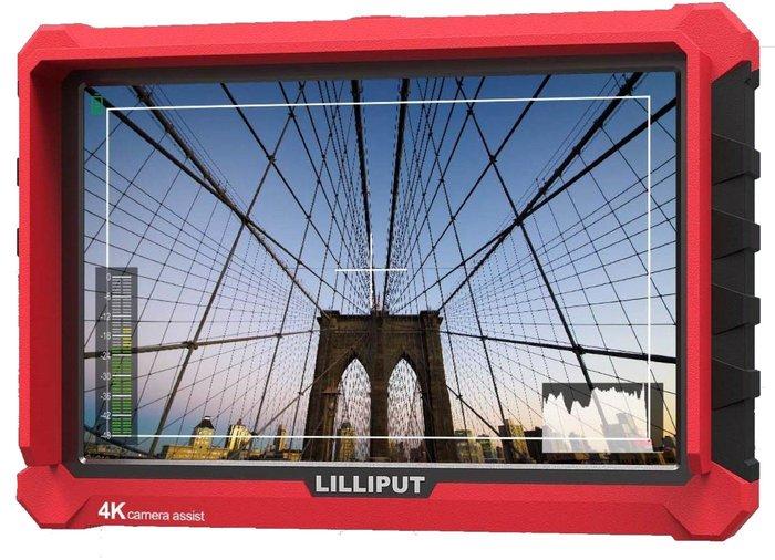 呈現攝影-LILLIPUT利利普 A7s 7吋LCD液晶螢幕 4K HDMI 攝像 監視器 顯示器 單眼 5D4 A7