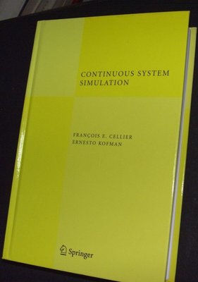 Continuous System Simulation cellier kofman連續系統模擬z3
