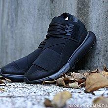 HYDRA Adidas Y-3 Qasa High Triple black 全黑武士鞋山本 ec215dc558ec