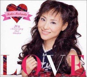 日版全新未拆已絕版 --- 松田聖子 Seiko Matsuda ---LOVE 20 Anniversary Best