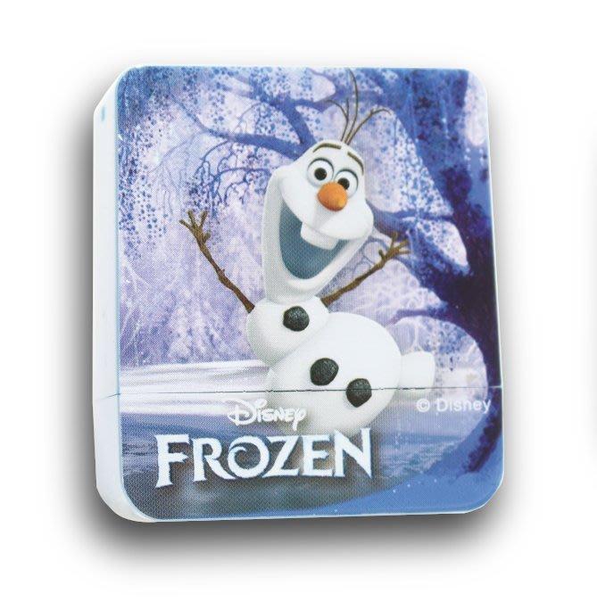 迪士尼印章 冰雪奇緣 B款 方塊章 印章 正版授權 印章 卡通印章 姓名印章