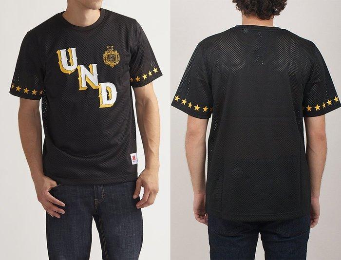 【 超搶手 】全新正品 最新款 UNDEFEATED UND MESH TEE 美式足球 球衣 透氣 黑色 S