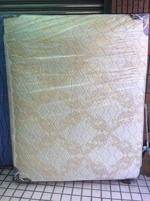 全新提花布獨立筒雙人床墊-標準5x6.2尺全新床墊-雙人床墊-全新床墊-軟式床墊-寢具-獨立筒床墊