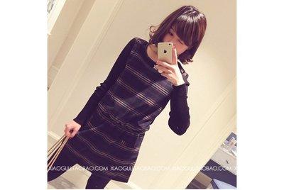 韓版連衣裙(灰色) J-11587