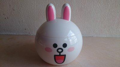 Line Friends兔兔Cony膠盒一個
