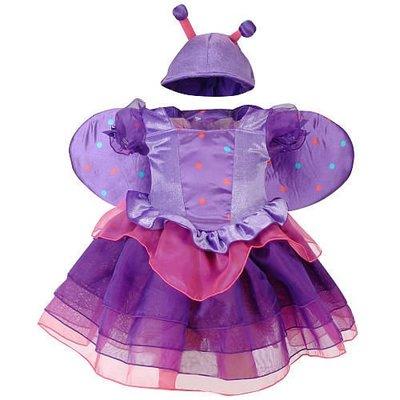 妍媽咪兒童禮服出租~可愛紫色蝴蝶翅膀造型~萬聖節遊行生日派對