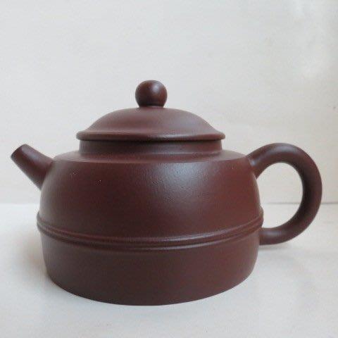 [ 廣緣-茶壺 ] 多孔  王國望老紫泥茶壺  ** 可議價 **