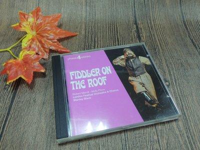Q2002-二三十年前二手CD-德國版】FIDDLER ON THE ROOF-屋頂上的提琴手電影原聲帶-LONDON-