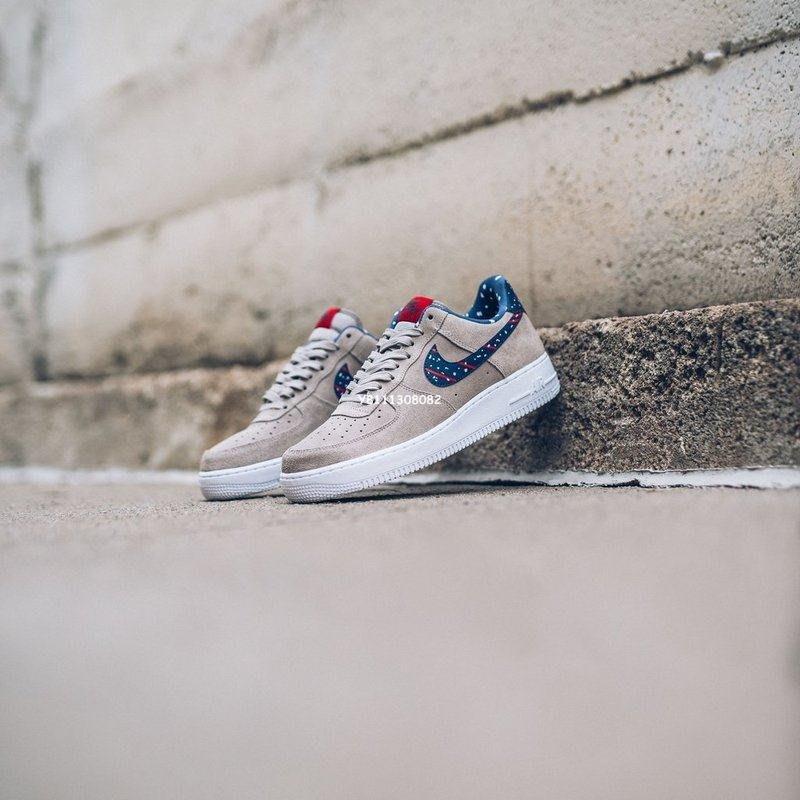 Nike Air Force 1 &Quot;Moon Landing  空軍 低幫 百搭 滑板鞋 月球 Aq0556-200 男女鞋